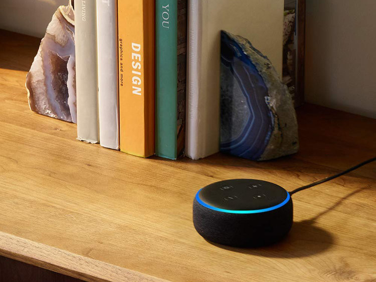 The Echo Dot was the top-selling item on Amazon over the long Thanksgiving weekend.