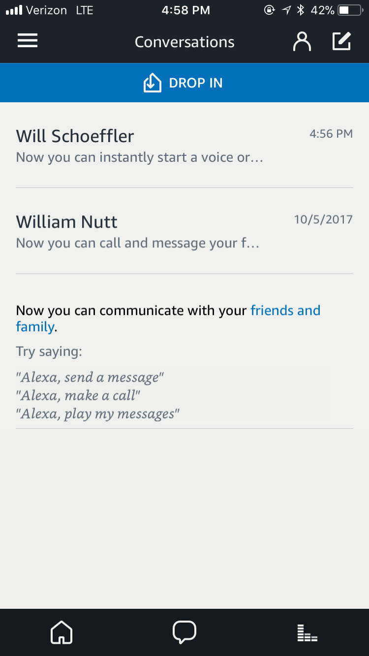 Drop in on Another Alexa Device ~ The Assistant